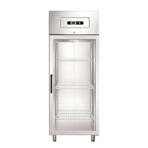 Dulap congelator cu 1 usa din sticla 650Lt