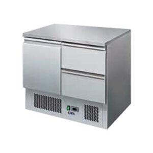 Masa frigorifica cu 1 usa si 2 sertare 240Lt