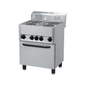 Masina de gatit electrica cu 5 plite si cuptor horeca