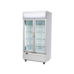 vitrina frigorifica verticala 2 usi